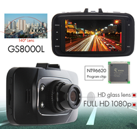 1080p 2.7 Inch Lcd Car Dvr Mini Car DashCam Recorder with G-sensor and Hdmi GS8000L