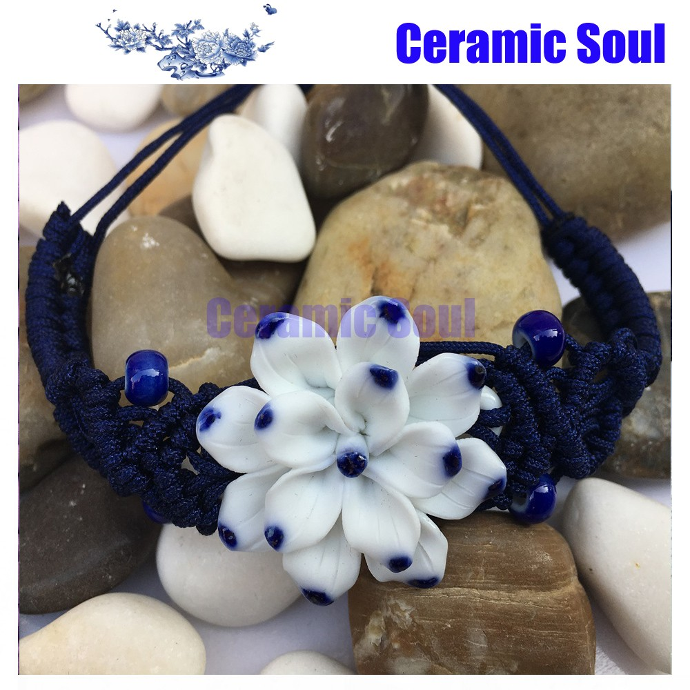Ceramic Soul best selling products bracelet for elderly bracelet cultural beaded ceramic bracelet accessories
