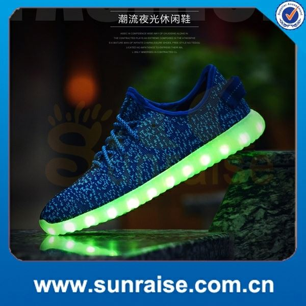 exercise led light high heel shoes