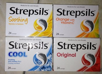 Strepsil Antiseptic Lozenges 2 strips x 12 tablets