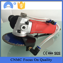 portable hand hold penumatic wet saw stone cutter