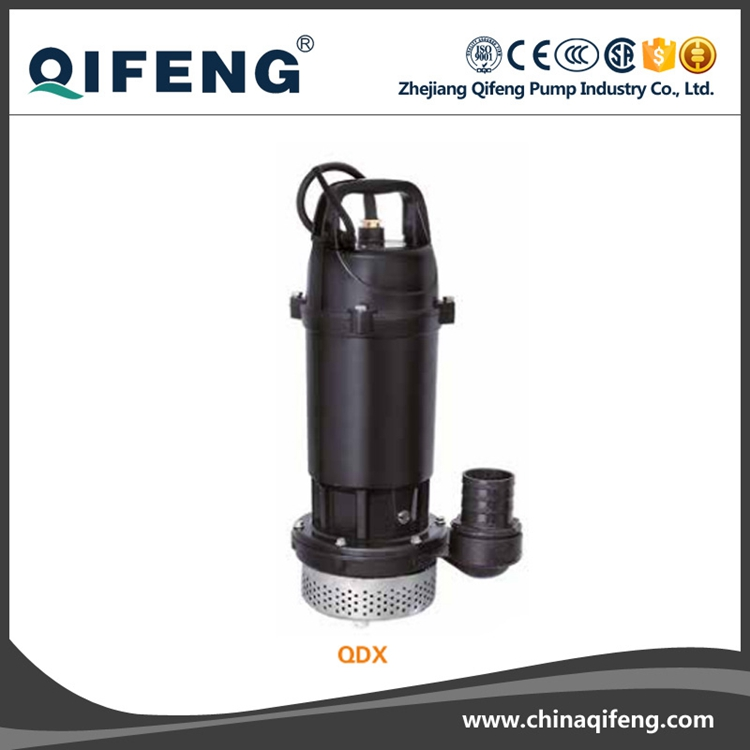 QDX40-7-1.1 Stainless steel centrifugal submersible pump with float