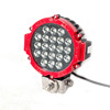 fashion cool red yellow black china suppliers dirtbike round 7inch 21*3W 63w12v led work lamp light for tractors tailers offroad