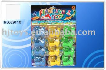 spinning top flashing peg-top promotion toy HJ029110