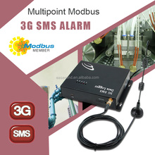 Multipoint Modbus 3G gsm SMS Data Logger control by mobile phone sms