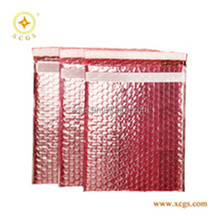 Self adhesive static red air bubble shielding bubble bag for electronic packing