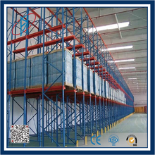 cold storage equipment drive through rack shelving system