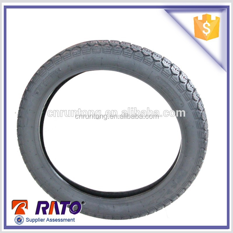 Chinese tubed motorcycle 14 inch tubed rubber tire casing