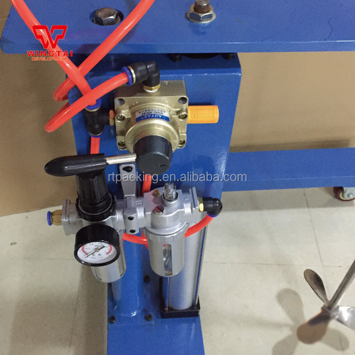170L Capacity Pneumatic Ink Mixer For Paint,Ink