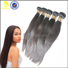 Hot sale straight 100% virgin real brazilian hair extension,pure brazilian hair product