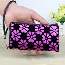 Wristlet Wallet with Cell Phone Holder/Carry Wrist Strap Functional Wallet Case Clutch women wallet
