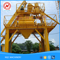 New brand customized mini mobile concrete mixer machine batching plant