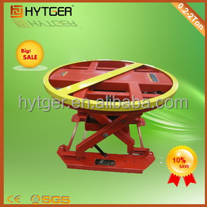 Automatic Rotating hydraulic Scissors table lift hinge