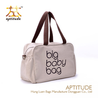 New Best products Fashion Canvas adult baby diaper bag