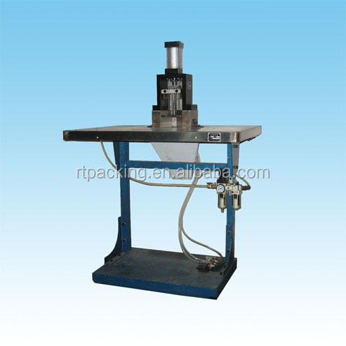 Pneumatic rounded corner punch