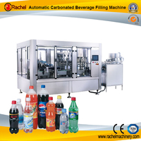 Lemon Sparkling Soft Drinks Filling Capping Machine