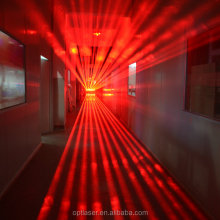 Professional Stage Lights Products, 10 Heads Laser Array, Red Effects Laser Heads Moving Beam for Stage Lighting.