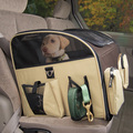 Deluxe Dog Car Booster Seat Travel Carrier/Cover, Pet Carrier for Cars
