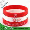 Basketball Star James Harden wristband silicone bracelets rubber cuff wrist bands