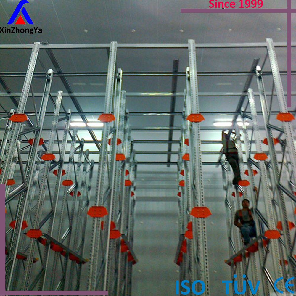 heavy duty drive thru warehouse racking system