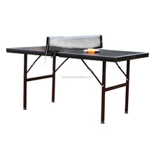 Christmas promotional cheap kid's small size folding leg table tennis table