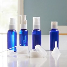 50ml Toiletry Travel Pet Bottle Set for cosmetic packaging