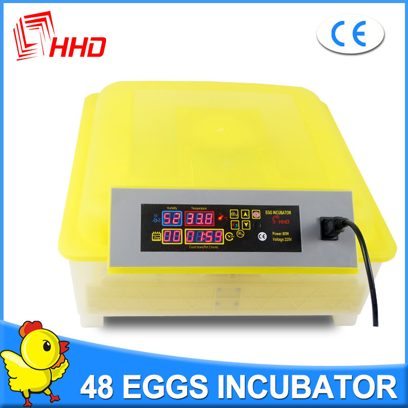 HHD Newest design full automatic CE Approved mini poultry incubator machine /used poultry incubator for sale
