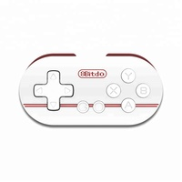 HOT 8Bitdo Zero Mini Wireless Bluetooth Game Controller Gamepad Joystick Selfie For Phone PC Remote Shutter LED Indicator Light