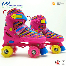 Soy luna TV show adjustable size quad roller skates shoes for teenagers