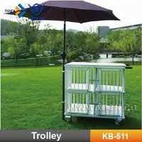 Pet Cart (Aluminum Dog Trolley)