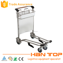 Wholesale stainless steel heavy duty airport cart trolley HAN-AT18 1592