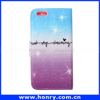 wholesale bulk cell phone case for iphone 6, wallet leather phone case