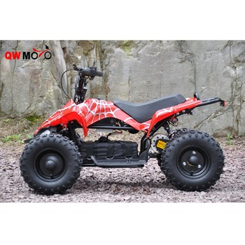 2018 CE 500W 48v electric quad atv for kids mini quad bike cheap sale QWMOTO