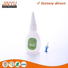 JY cyanoacrylate adhesive waterproof glue all ethyl acrylate