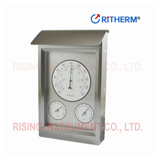 stainless steel indoor thermo hygrometer room thermometer hygrometer