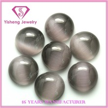 Wholesale AAA Quality 12mm round cabochon cat eye gem stone price