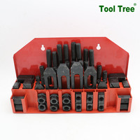 Deluxe Vices 52PCS/42PCS/36PCS Steel Clamping Kits Mounting Kits for Wood-working Machines
