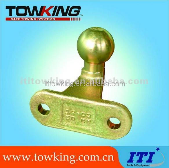 50mm trailer straight hitch ball