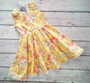 Cute Baby Lovely Dress Ladies Dress Yellow Fashion Lace Dress