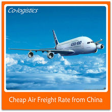 Cheap Air freight to Kuala Terengganu/TGG from china-james