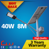 Cool white direct manufacture 40W LED solar street light pictures