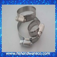 Worm Drive Stainless Steel Adjustable Compression Hose Clamp