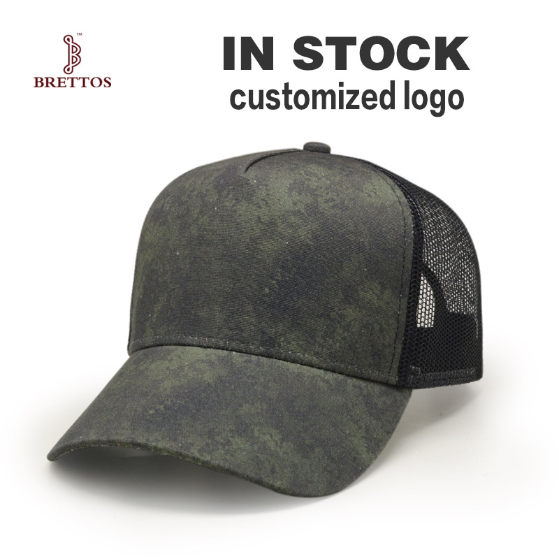 Wholesale Factory High Quality Custom Trucker Print Mesh <strong>Cap</strong>