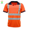 100 Polyester Breathable Mens Reflective T