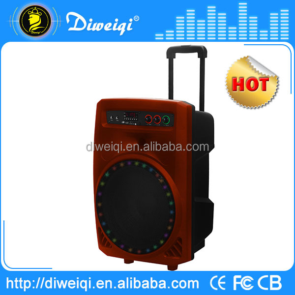 2015 outdoor stadium 15 inch subwoofer with trolley