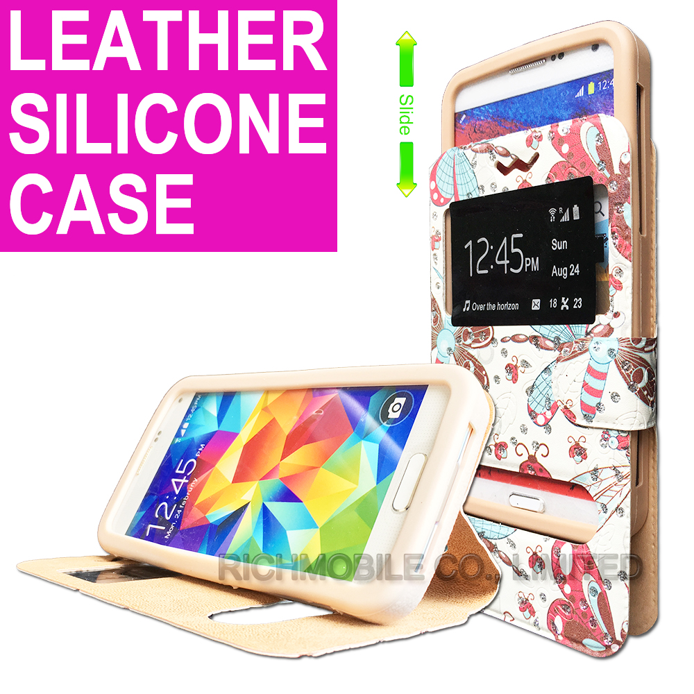 for XiaoMi RedMi Note 4 Rhinestone Maple 3D Relief Print Soft Silicone Leather Slider Book Wallet Stand Case Cover Universal