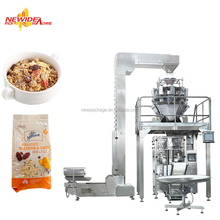 Automatic Puffs Maize Corn Flakes Breakfast Cereal Packaging Machine