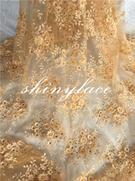Stone crochet pattern lace/embroidered applique lace/nigerian fabrics tulle lace