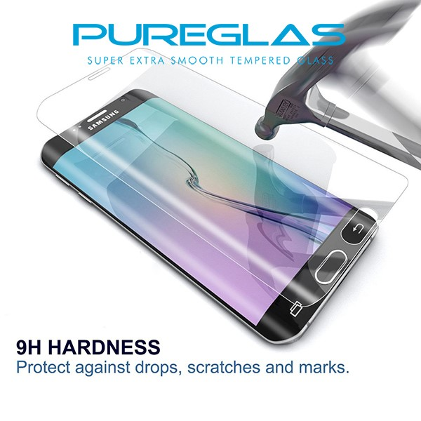 Mobile Phone Use 3D Curved Full Cover S7 Tempered Glass screen protector For Samsung Galaxy S7
