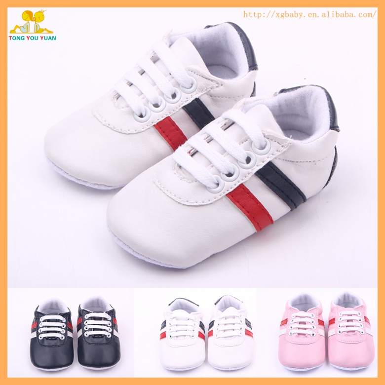 Wholesale Leather Baby Sport Shoes For Boys And Girls